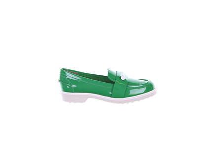 New Womens Golf Shoe Tory Sport Pocket Tee Medium 7.5 Court Green MSRP $250 43447