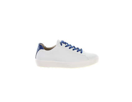 New Womens Golf Shoe Pakira Golf Diva Dundee Medium 36 (6-6.5) White/Ocean MSRP $175