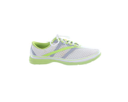 New Womens Golf Shoe Callaway Solaire SE Medium 6.5 White/Grey MSRP $100 W489