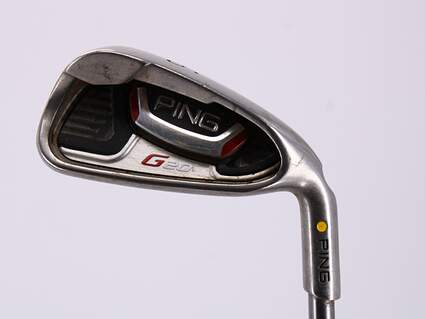 Ping G20 Single Iron 6 Iron Ping TFC 169I Graphite Regular Right Handed Yellow Dot 37.5in