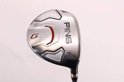 Ping G20 Fairway Wood 3 Wood 3W 15° Accra DyMatch 2.0 RT-F M3 Graphite Regular Right Handed 42.0in
