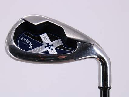 Callaway X-18 Single Iron Pitching Wedge PW Callaway Stock Graphite Graphite Regular Right Handed 35.25in