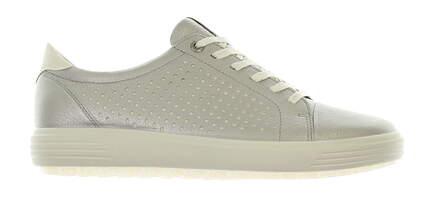 New Womens Golf Shoe Ecco Casual Hybrid Medium 36 (5-5.5) Aluminum Silver MSRP $210 122133 01708