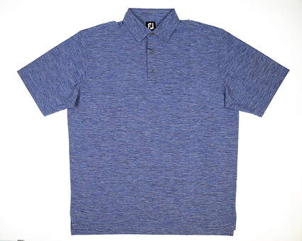 New Mens Footjoy Golf Polo X-Large XL Navy/French Blue/White MSRP $80 22322
