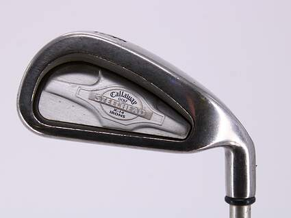 Callaway X-14 Single Iron 6 Iron Stock Graphite Shaft Graphite Ladies Right Handed 36.5in