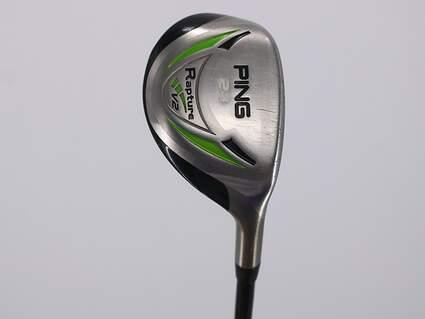 Ping Rapture V2 Hybrid 4 Hybrid 23° Aldila Serrano 85 Hybrid Graphite Stiff Left Handed 38.75in