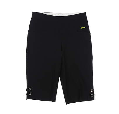 New Womens Swing Control Golf Shorts 2 Black MSRP $102 M2003