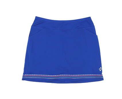 New Womens Jo Fit Golf Skort Medium M Blue MSRP $90