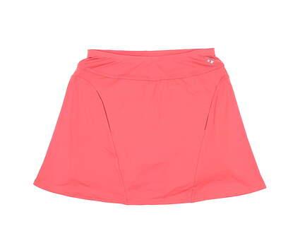 New Womens Jo Fit Paneled Swing Skort Small S Orange MSRP $90 GB067-SCL