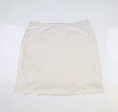 New Womens Jo Fit Jacquard Mina Skort Small S White MSRP $82 UB236-WHT