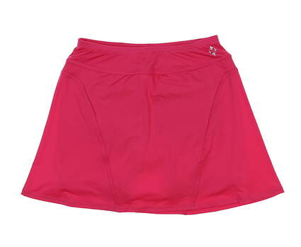 New Womens Jo Fit Paneled Swing Skort Small S Pink MSRP $90 GB067-HBS