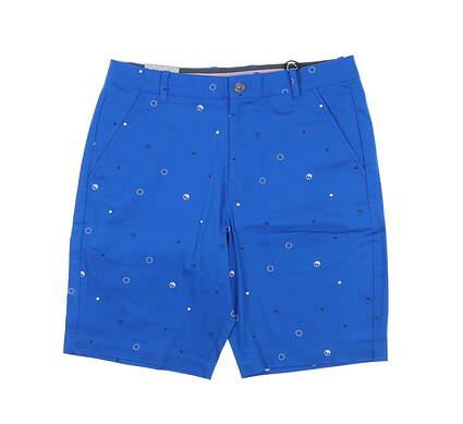 New Mens Puma AP Full Circle Golf Shorts 32 Future Blue MSRP $95 599967 03