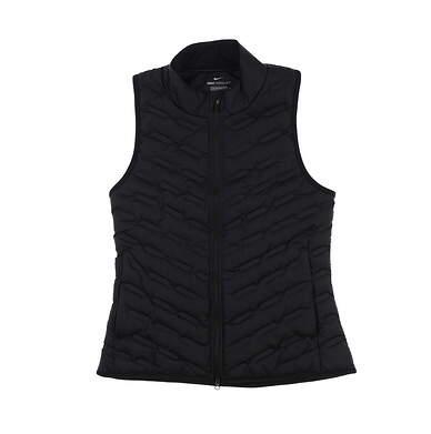 New Womens Nike Golf Vest X-Small XS Black MSRP $180 CK5784-010