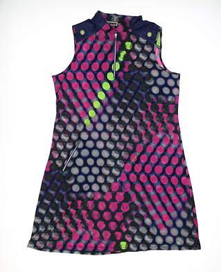 New Womens Jamie Sadock Golf Dress Medium M Multi MSRP $120 72409