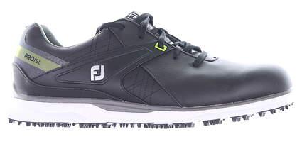 New Mens Golf Shoe Footjoy 2020 Pro SL Wide 9 Black/Green MSRP $170 53813