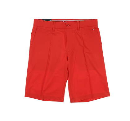 New Mens J. Lindeberg Golf Shorts 31 Cherry Tomato MSRP $135 92MG155050408