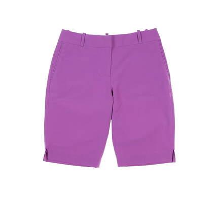 New Womens Fairway & Greene Macie Shorts 4 Purple MSRP $95 E12183