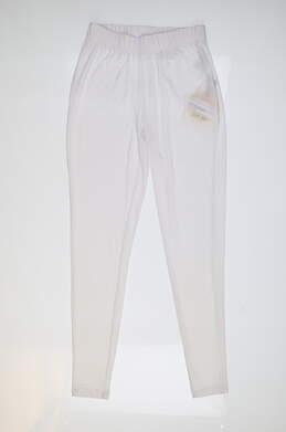 New Womens Jamie Sadock Golf Pants X-Small XS White MSRP $110 82330