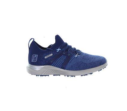 New Mens Golf Shoe Footjoy 2021 HyperFlex Medium 9.5 Blue MSRP $150 51082