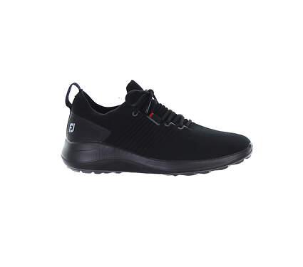 New Mens Golf Shoe Footjoy Flex XP Medium 8.5 Black MSRP $110 56271