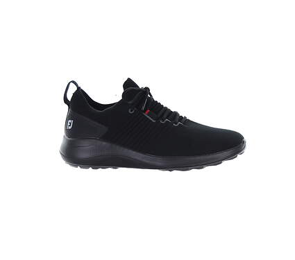 New Mens Golf Shoe Footjoy Flex XP Medium 10 Black MSRP $110 56271