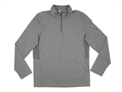 New Mens Puma Proven 1/4 Zip Pullover Medium M Medium Gray MSRP $65 577900 03