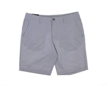 New Mens Under Armour Golf Shorts 38 Gray MSRP $60