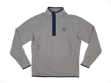New W/ Logo Mens Peter Millar Golf Long Sleeve Medium M Gale MSRP $125 MF20EZ38