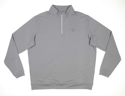 New W/ Logo Mens Peter Millar 1/4 Zip Golf Pullover X-Large XL Gale MSRP $125 MS20EK40D