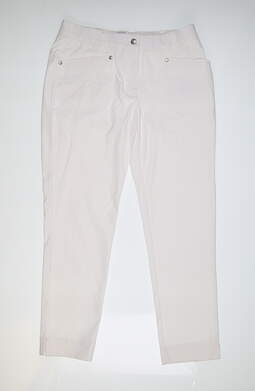 New Womens Daily Sports Golf Pants 8 White MSRP $140