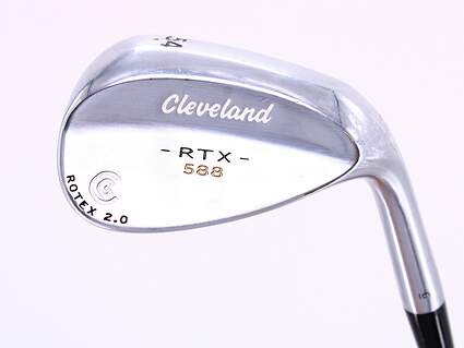 Cleveland 588 RTX 2.0 Tour Satin Wedge Sand SW 54° Cleveland ROTEX Wedge Steel Wedge Flex Right Handed 35.5in