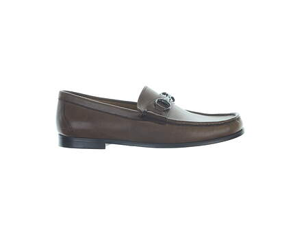 New Mens Golf Shoe Peter Millar Loafer 9 Brown MSRP $300 MS17F52