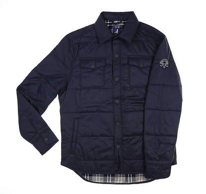 New W/ Logo Mens Johnnie-O Watford Jacket Large L Wake MSRP $150 JMJK1500
