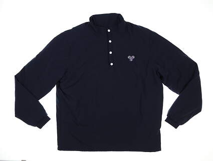 New W/ Logo Mens Footjoy Thermal Jacket Large L Navy MSRP $175 25069