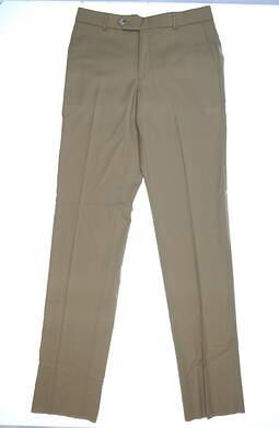 New Mens Ballin Soho Pants 35 xUn-Hemmed Khaki MSRP $195 M55499244