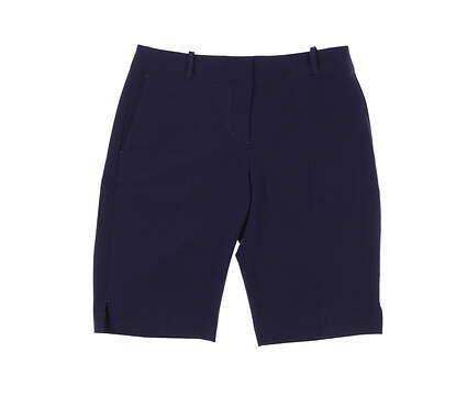 New Womens Fairway & Greene Golf Shorts 4 Navy Blue MSRP $95 E12183