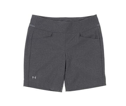 New Womens Under Armour Golf Shorts Large L Gray MSRP $70