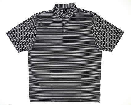 New Mens Footjoy Golf Polo XX-Large XXL Black MSRP $80 25629