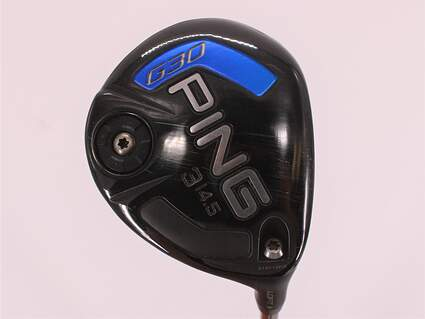 Ping G30 Fairway Wood 3 Wood 3W 14.5° Ping Tour 65 Graphite Regular Right Handed 42.75in