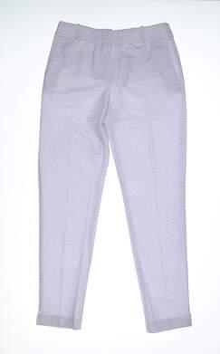 New Womens Fairway & Greene Audrey Pants 0 Blue MSRP $130 H32285
