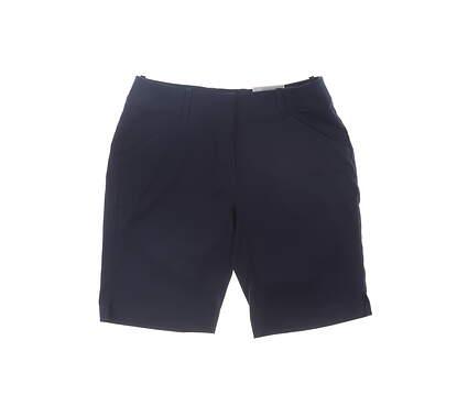 New Womens Callaway Golf Shorts 2 Navy Blue MSRP $70