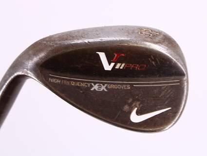 Nike Victory Red Pro Black Oxide Wedge Sand SW 56° 14 Deg Bounce FST KBS Tour C-Taper Steel Stiff Left Handed 35.25in