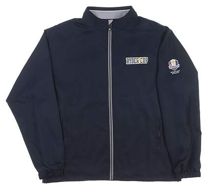 New Mens Ahead 2020 Ryder Cup Full-Zip Jacket Large L Navy MSRP $95 OD22