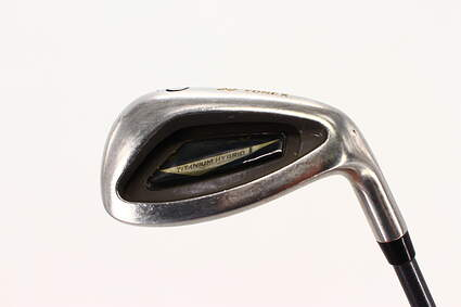 Yonex Super ADX Titanium Single Iron Pitching Wedge PW Stock Graphite Shaft Graphite Stiff Right Handed 35.5in