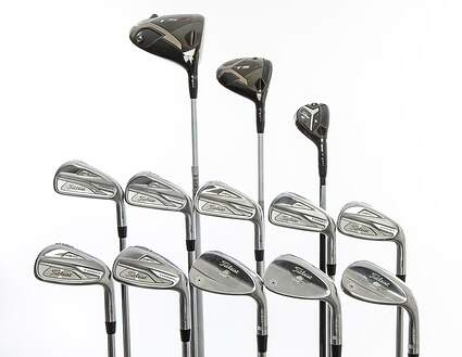Titleist 718 AP2 TS3 Complete Golf Club Set Driver Fairway Hybrid Irons Wedges Right Handed Stiff