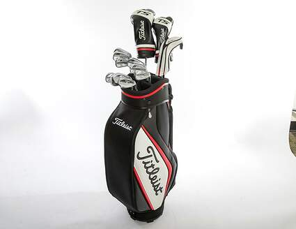 Titleist 718 AP2 TS3 Complete Golf Club Set Driver Fairway Hybrid Irons Wedges Bag Right Handed Stiff MSRP $3069.99