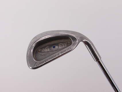 Ping Eye 2 Single Iron Pitching Wedge PW Ping ZZ Lite Steel Stiff Right Handed Blue Dot 35.75in