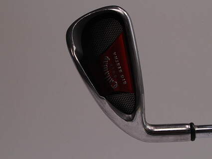 Callaway 2008 Big Bertha Single Iron 4 Iron Callaway Big Bertha Steel Uniflex Left Handed 38.75in