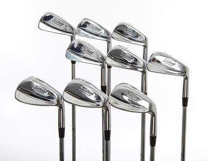 Tour Issue Titleist 681 Forged SE Iron Set 2-PW True Temper Dynamic Gold X100 Steel X-Stiff Right Handed 37.5in