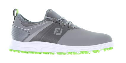 New Mens Golf Shoe Footjoy SuperLites XP Medium 9.5 Gray 58065 MSRP $110